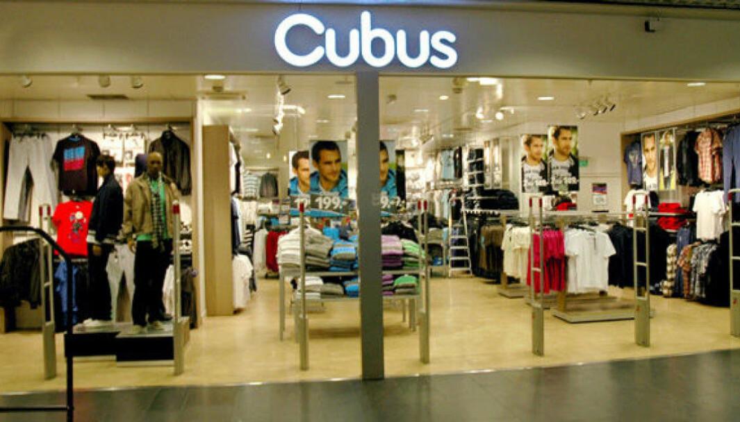 Varner har avviklet 16 Cubus- og fire Dressmannbutikker i Tyskland.