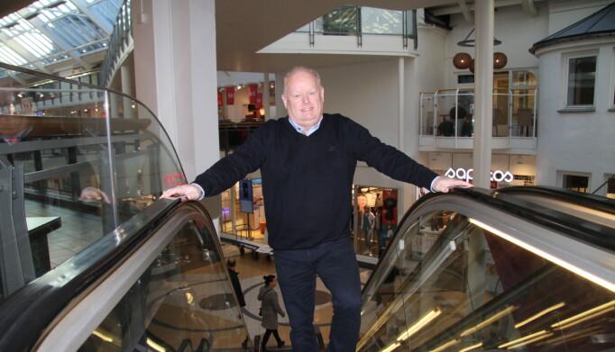 Stig Eriksen er regionsenterleder for Farmandstredet i Tønsberg og Nordbyen i Larvik.