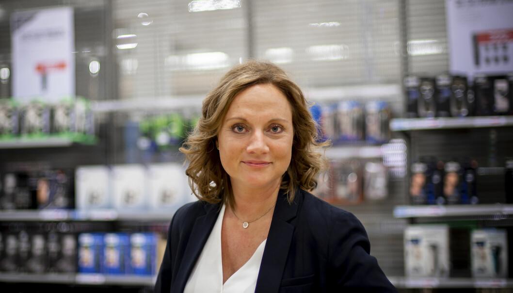 Susanne Holmström er toppsjef i NetOnNet.
