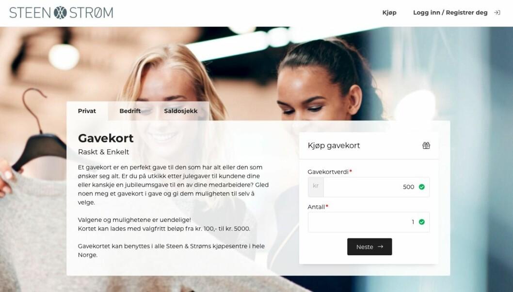 Microlog har inngått avtale om nettbutikk med Steen og Strøm som allerede er driftsatt på deres ti senter i Norge.