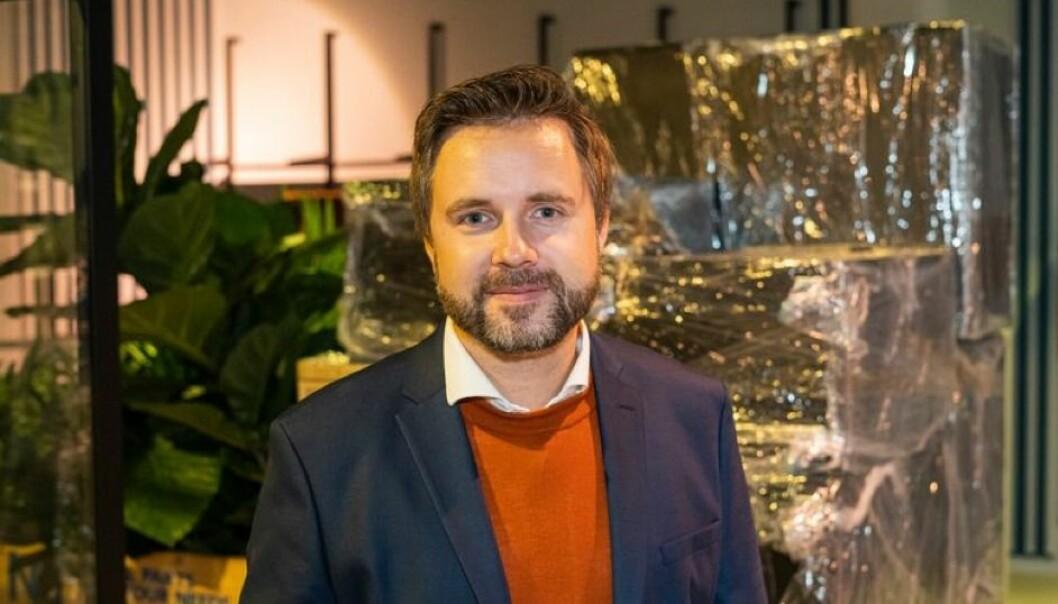 Salgs- og markedsansvarlig Pål Erik Solli-Sæter