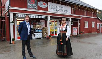 Hegna Landhandel historisk