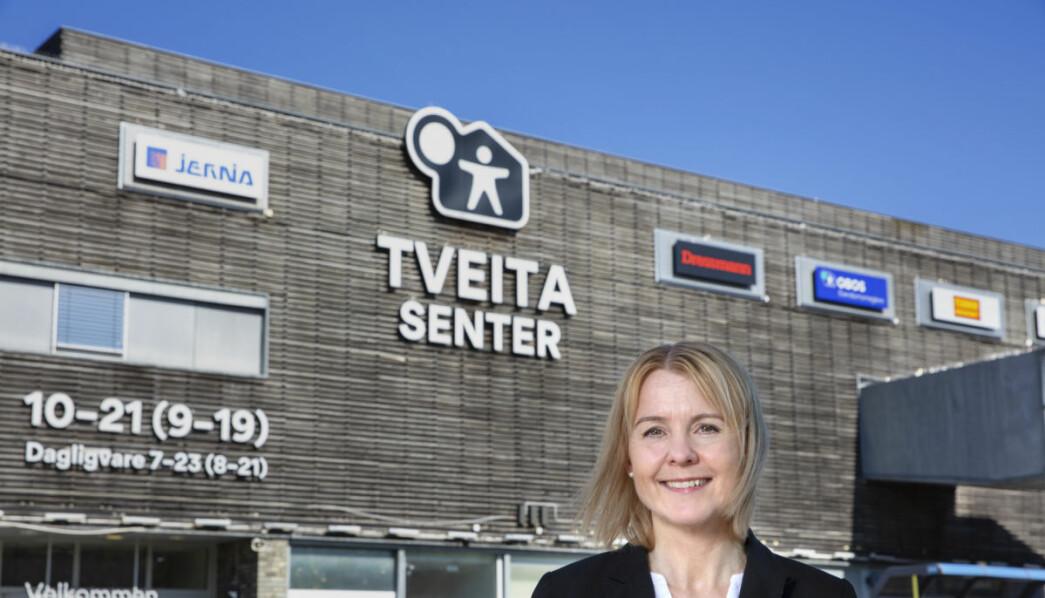 Senterleder Mona Bråten: – I dag står senteret frem med et stort og godt utvalg i våre 70 butikker.