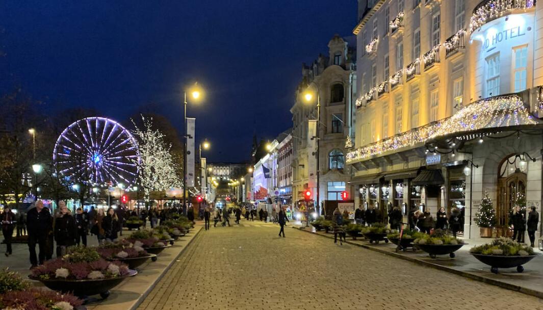 Ill. foto fra Karl Johans gate