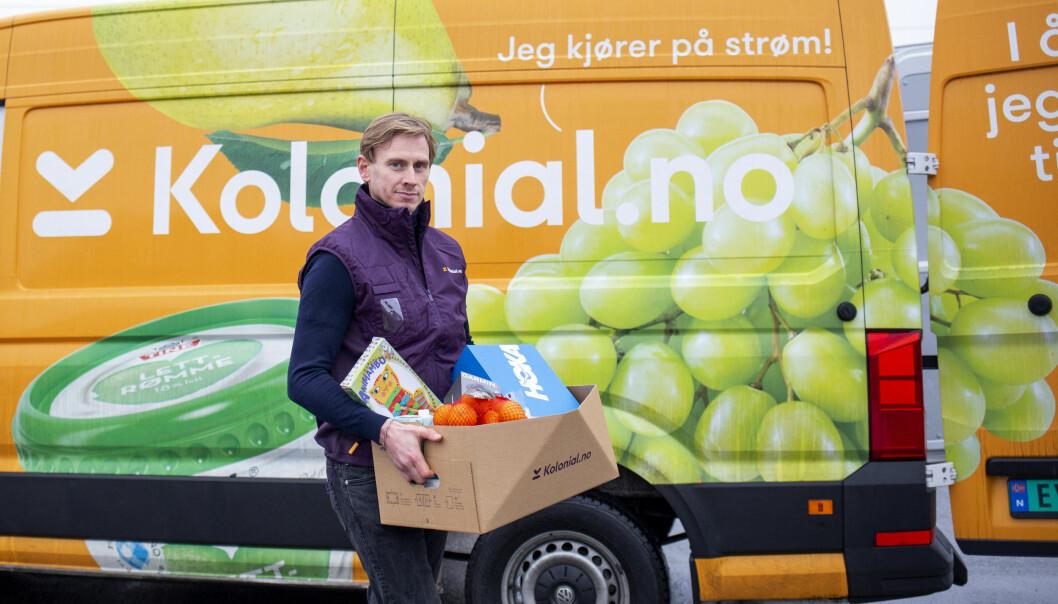 Jon Kåre Stene, med-gründer i Kolonial.no leverer nå også varer fra Sprell, Milrab.no og Anton Sport.