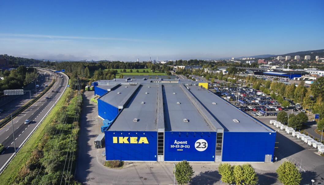 Fin utvikling for IKEA Norge i koronaåret.