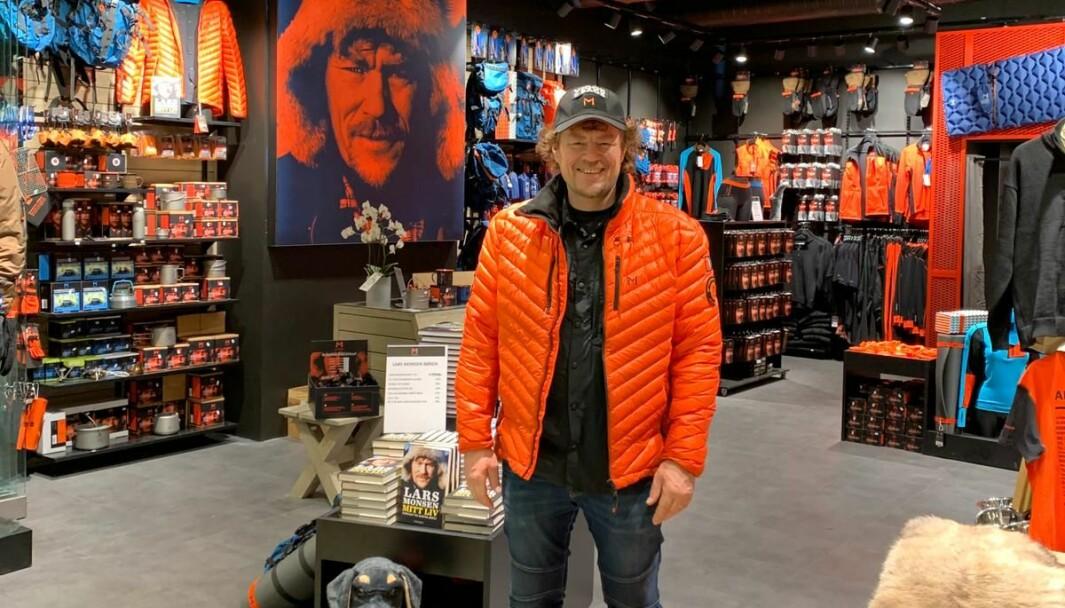 Butikken på Sirkus Shopping blir den 7. for eventyreren Lars Monsen.