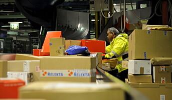 Posten leverte to millioner pakker i forrige uke