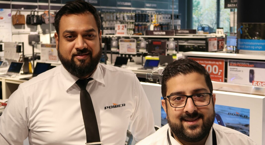 Sales manager Suraj Hirami and store manager Raheel Khan are satisfied with the continuous supply of feedback from their customers.