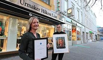 Urmaker- og gullsmedbutikker ble Årets kremmer i Trøndelag