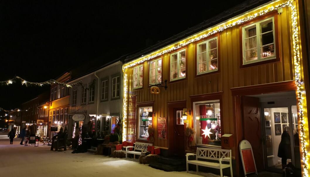 Julemarkedet varer i én måned.