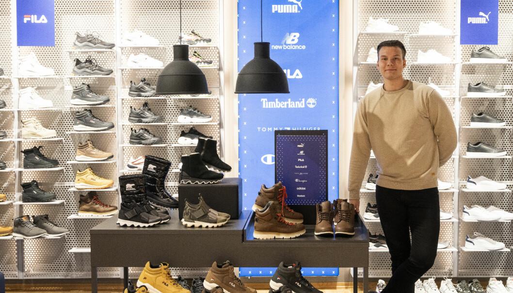 Med SNEAX tilbyr butikken et trendy utvalg til sine yngre kunder som ellers ikke vil kunne få i Narvik.