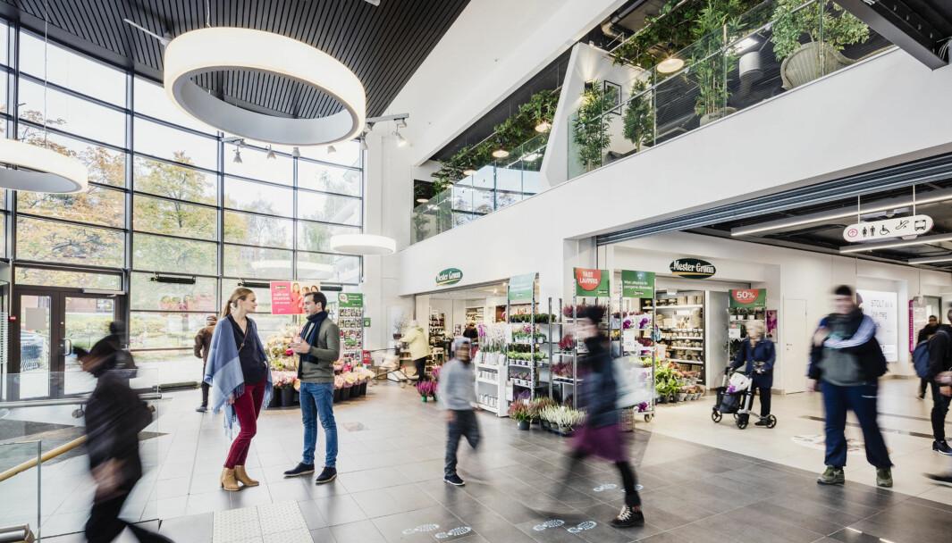 TRE NYE KONSEPTER: Stovner Senter er et av Norges største lokalsentre. Nå flytter tre nye konsepter inn på senteret.