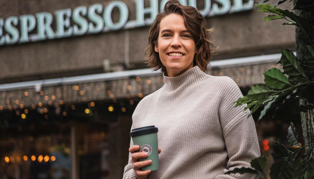 Marianne Gaarder Amland er nylig tiltrådt som daglig leder i Espresso House i Norge.