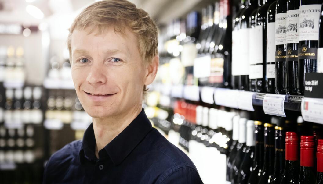Rolf Erling Eriksen er miljøsjef i Vinmonopolet.