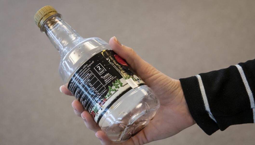 Flasken ser litt annerledes ut, og derned glemmer flere panten.