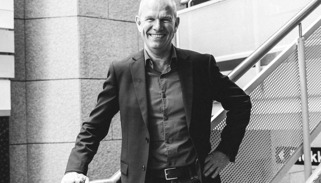 Finn Bjørsrud er CEO både for Puume i Norge og for konsernet med hovedkontor i Finland.