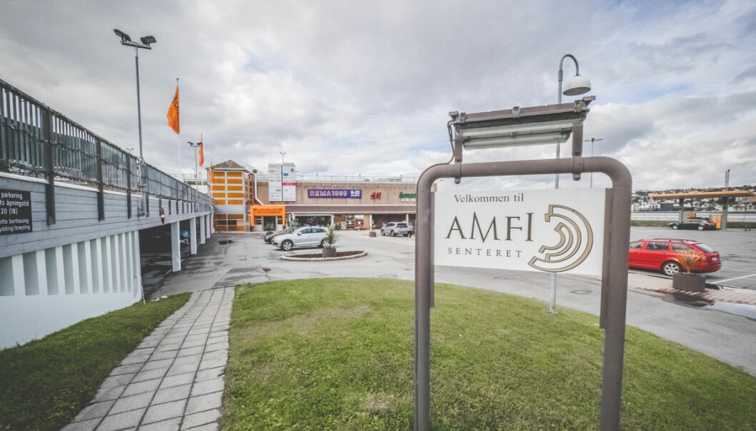 Amfi Pyramiden i Tromsdalen