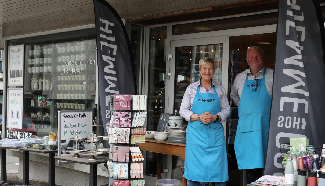 Søsknene og kompanjongene Ellen og Knut Bendiksen har skapt en populær nisjebutikk i Harstad som fikk et godt år i 2020.