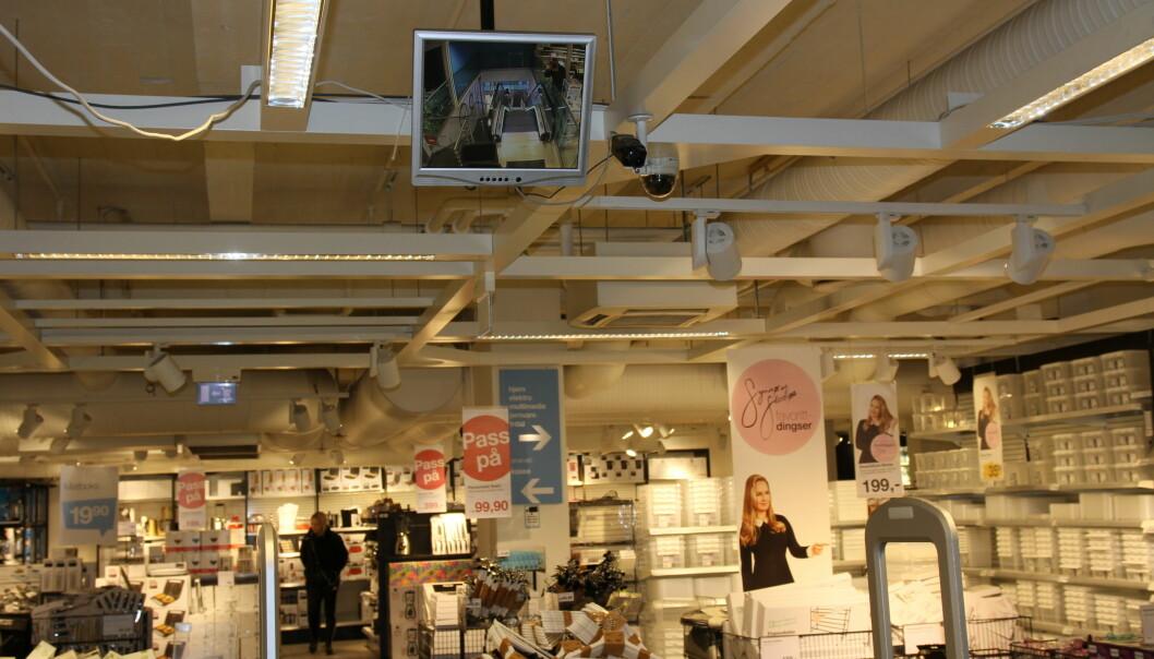 Ill. foto fra Clas Ohlson som var en av kjedene som ble utsatt for den uforbederlige butikktyven i Sarpsborg.