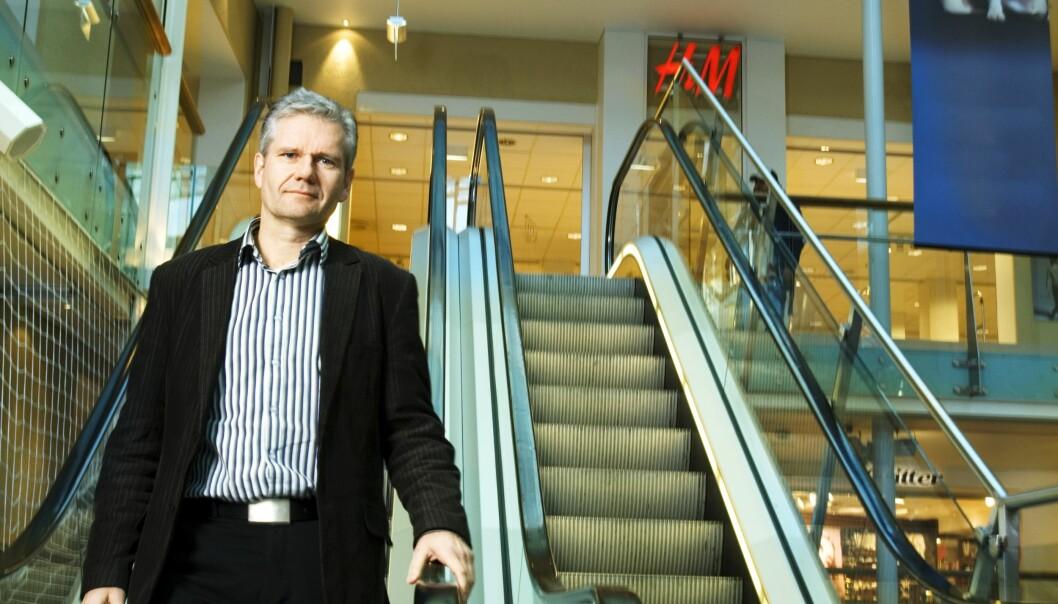 Geir Garte er prosjektsjef i Olav Thon Gruppens utbyggingsavdeling.