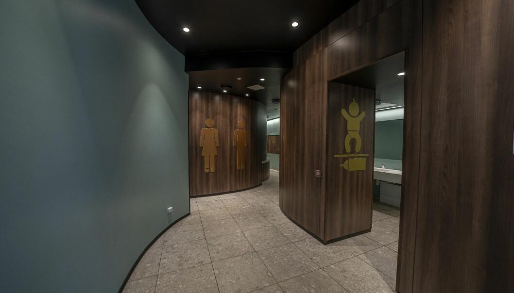 Det ble brukt godt med tid på prosjektet, også på innvendig belysning i fellesarealer og toalettavdelingene m.m.