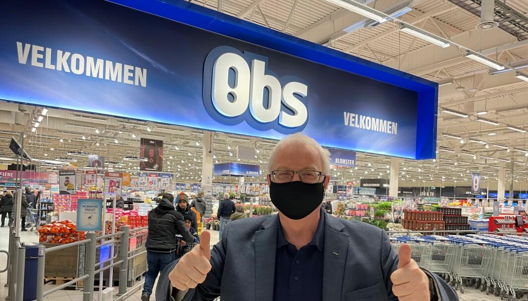Den beste dagen i året å være Coop-sjef, mener Torbjørn Skei.