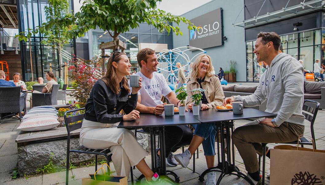 Det har skjedd en grønn omstilling på Oslo Fashion Outlet.