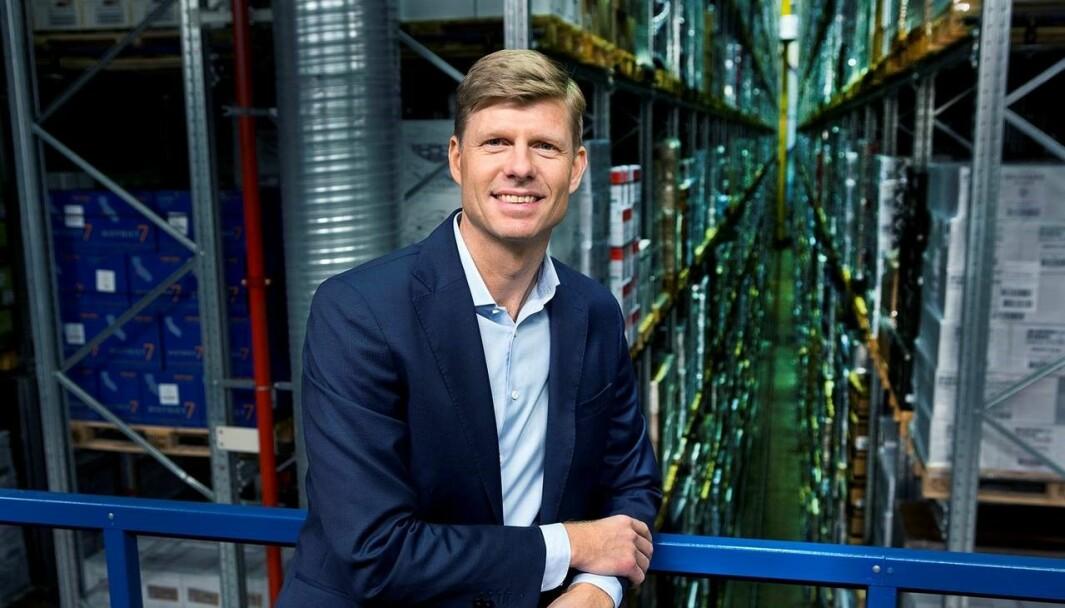 Per Öhagen, konserndirektør for e-handel og logistikk i Posten Norge, starter nå arbeidet med å bygge Norges største fullautomatiserte lagerløsning.