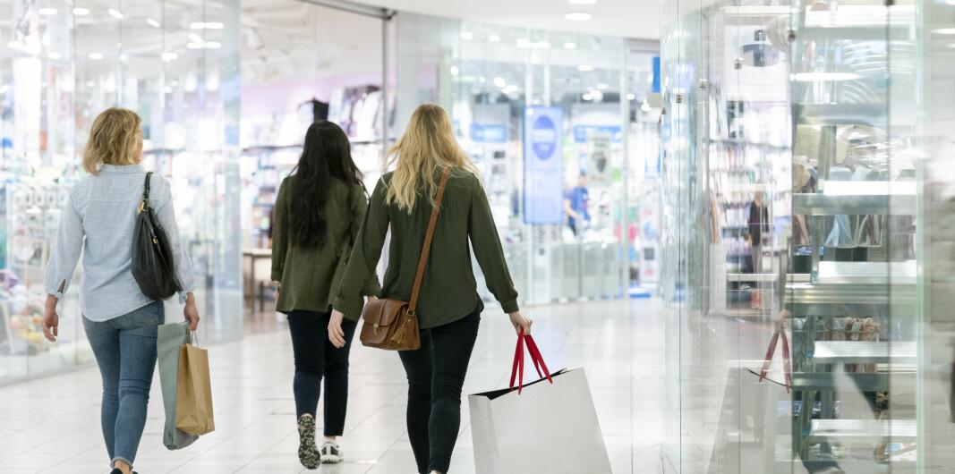 Ny smittevernveiledning for kjøpesentre