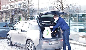 Elkjøp lar kundene betale med Vipps fra bilsetet