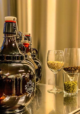 Produkter fra Stolt Bryggeri i Stjørdal leveres på døra.