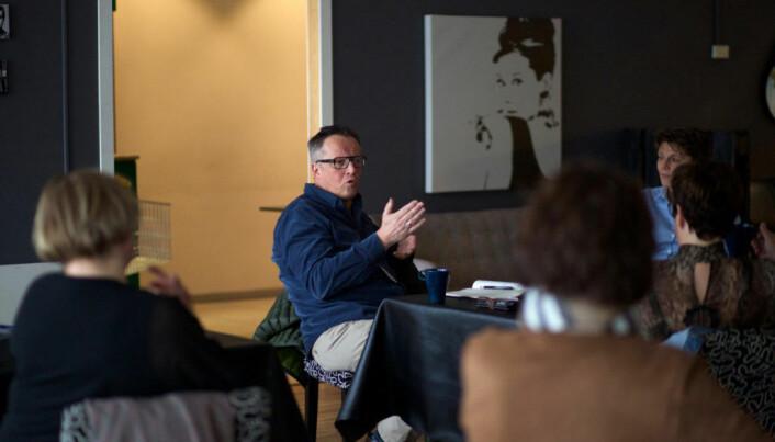 Jon Uthus er leder i Næringsforeningen i Værnesregionen NiV.