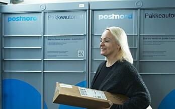 Plasserer ut 1500 pakkeautomater: Kontaktfrie pakkeleveringer