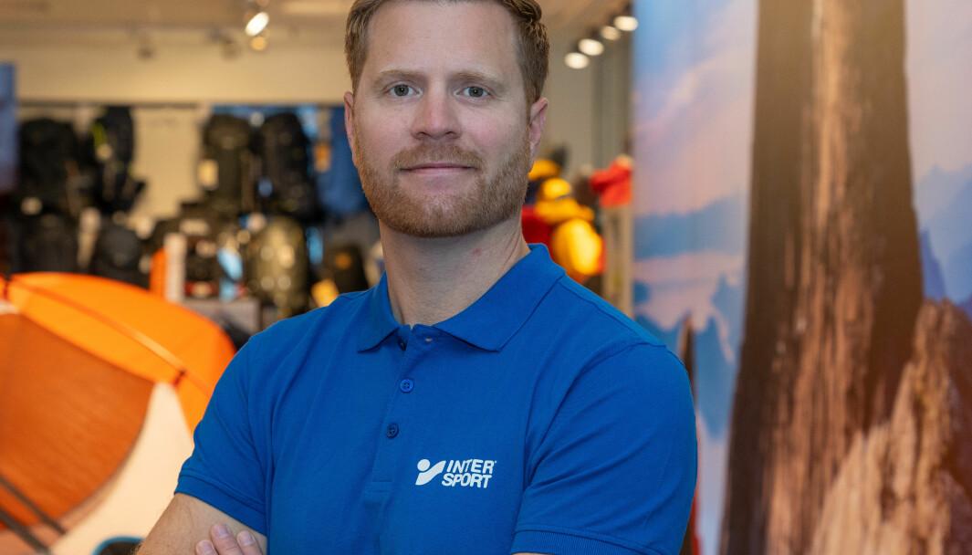 Lars Kristian Lindberg er adm. dir. i Intersport Norge.