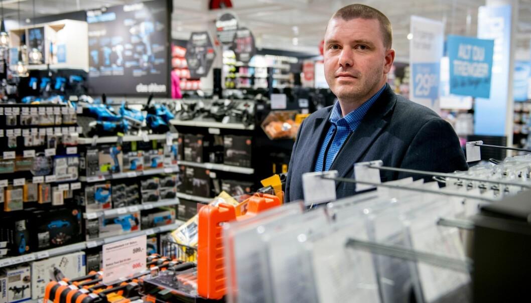 Kjell-Inge Oftedal er sikkerhetssjef i Clas Ohlson.