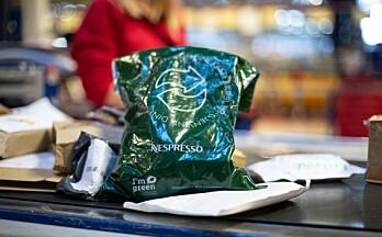 Bærekraft: Kaffekapslene gjenvinnes på Posten