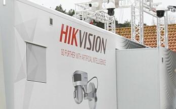 Avarn Security kutter ut kinesiske Hikvision