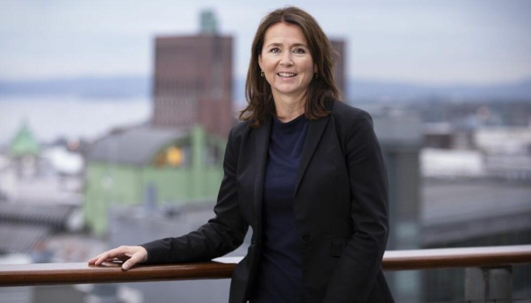Cathrine Laksfoss, administrerende direktør i Schibsted Distribusjon, er svært fornøyd med resultatet for 2020.