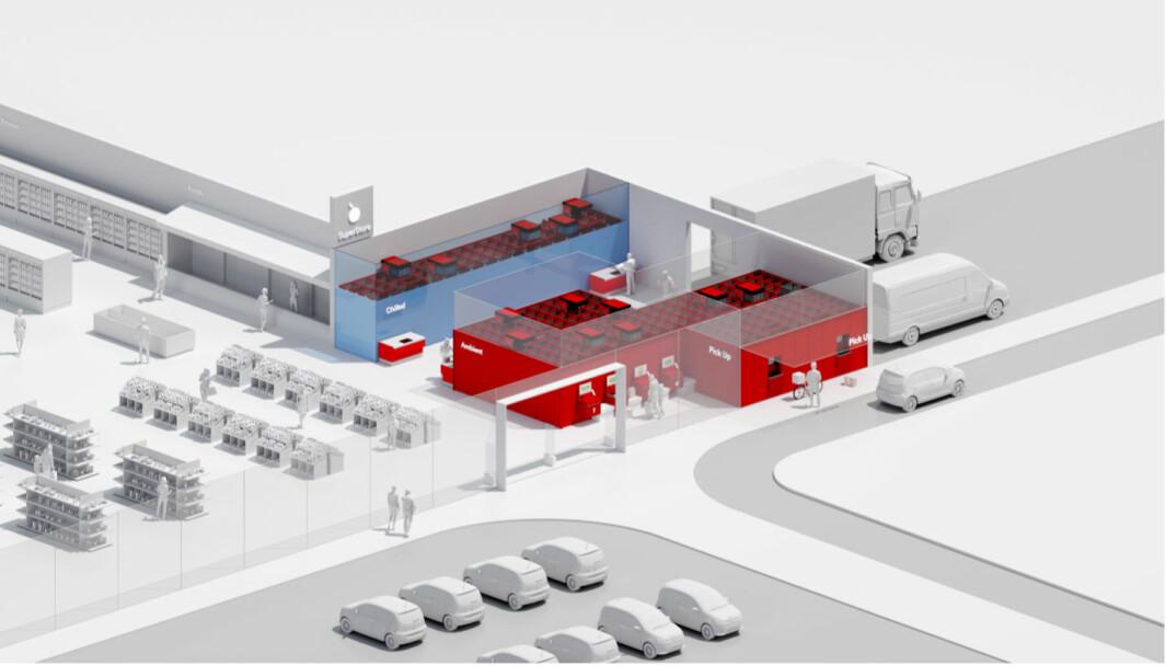 Butikkroboter som plukker varer for både hjemlevering og Click & Collect har tatt USA med storm.