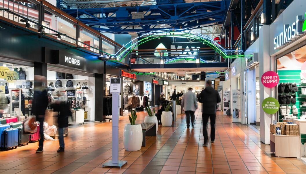 Strømmen Storsenter tar mål av seg å være landets tryggeste kjøpesenter.
