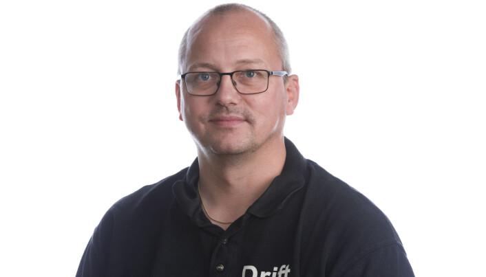 Kristian Ruud er driftsleder på Strømmen Storsenter.