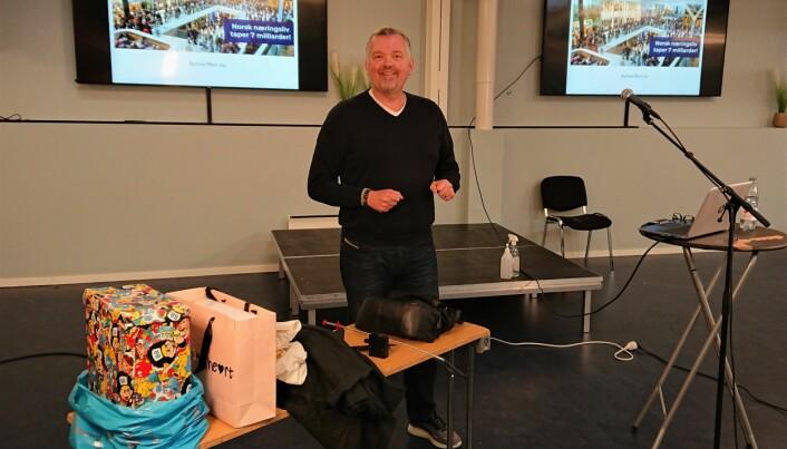 I koronatiden arrangeres svinnkursene for de ansatte på Strømmen Storsenter digitalt.
