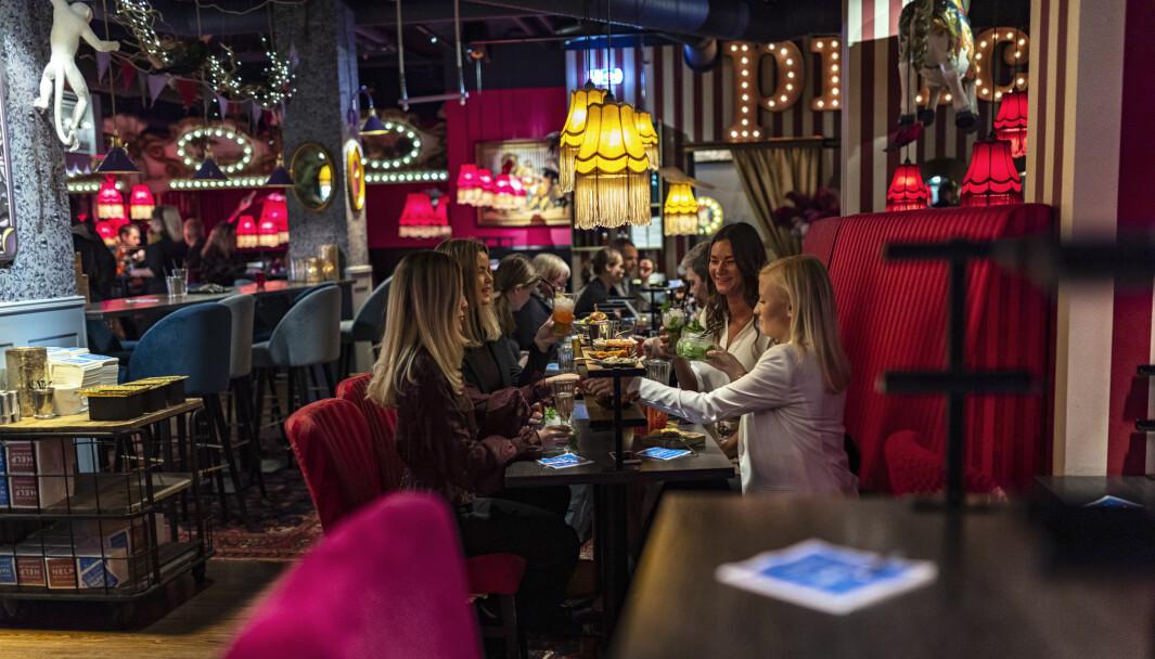 Pincho Nations konsept er 'destinasjonsrestaurant' hvor interiøret tar kunden
