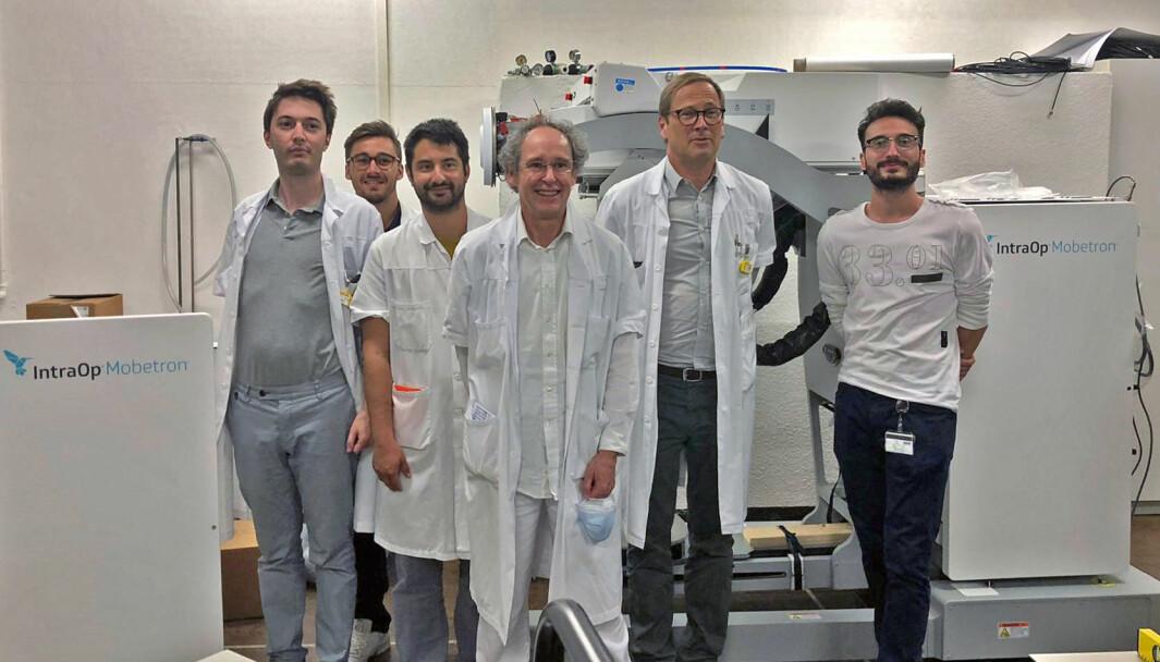 Forskere ved Lausanne universitetssykehus har utviklet en ny type strålebehandling.