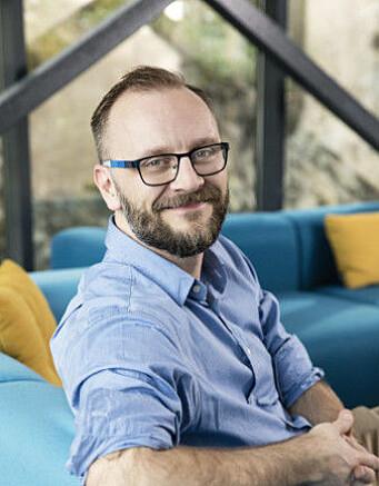 Steffen Larvoll er Head of Business Development i DRIW.