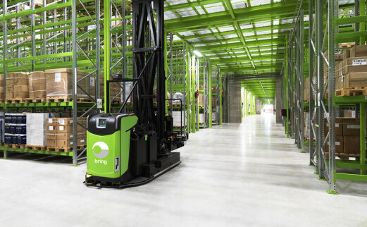 Bring bygger Norges største fulfilmentlager for nettbutikker