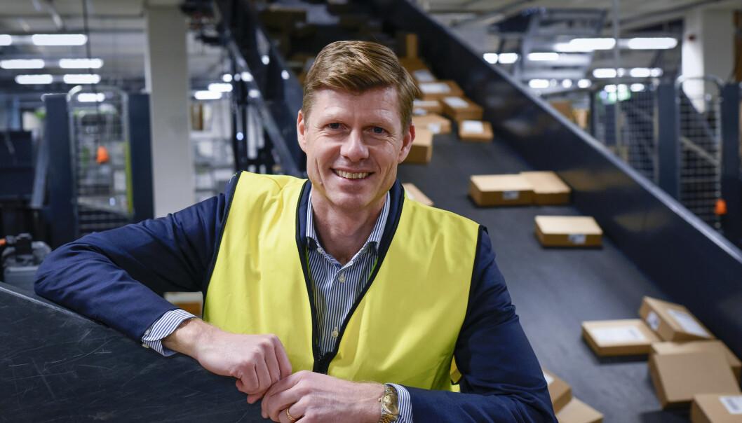 Per Öhagen, konserndirektør for E-handel og logistikk i Bring.