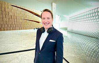 Tar over ledelsen av EPOS Norge
