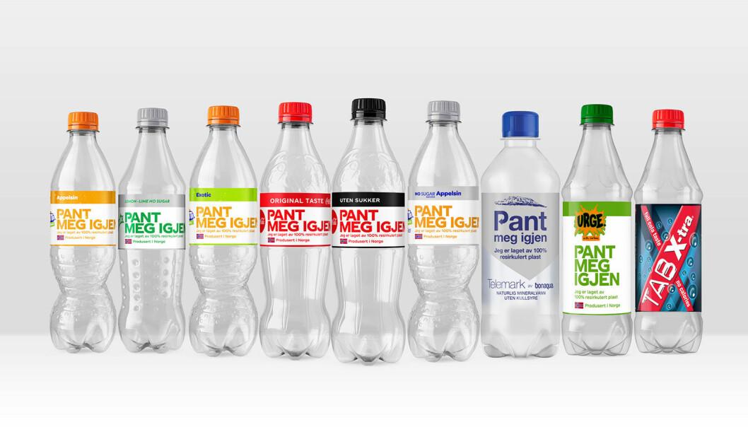 Norge er et av de første landene i verden der Coca-Cola gjennomfører overgangen til 100 % resirkulert plast.